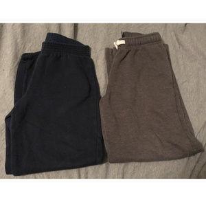 Bundle of 2 Boys Size Medium 8 Sweatpants
